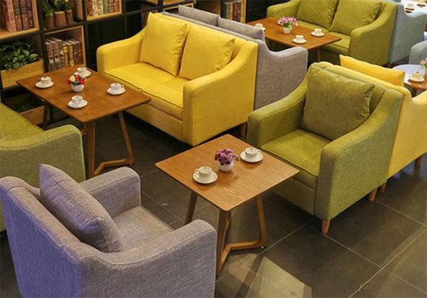 Bàn ghế sofa dành cho quán ăn